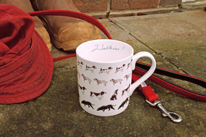 Sophie Allport 'Walkies!' Mug