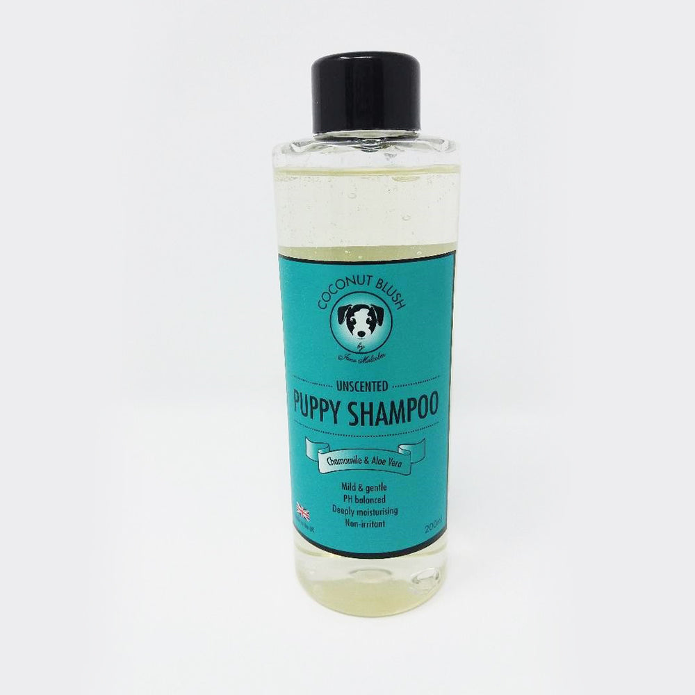 Coconut Blush Natural Puppy Shampoo With Chamomile