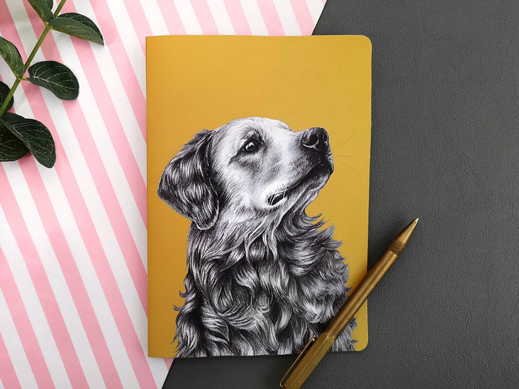 Beth Goodwin Illustrator Retriever Notebook