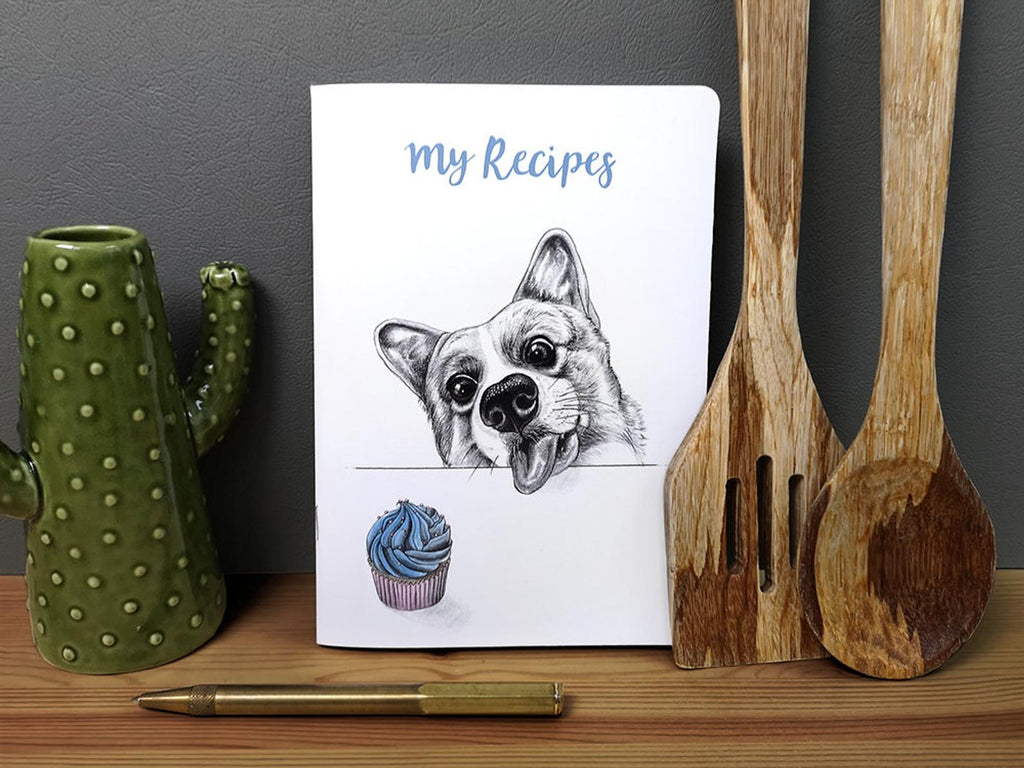 Beth Goodwin Illustrator Corgi Notebook