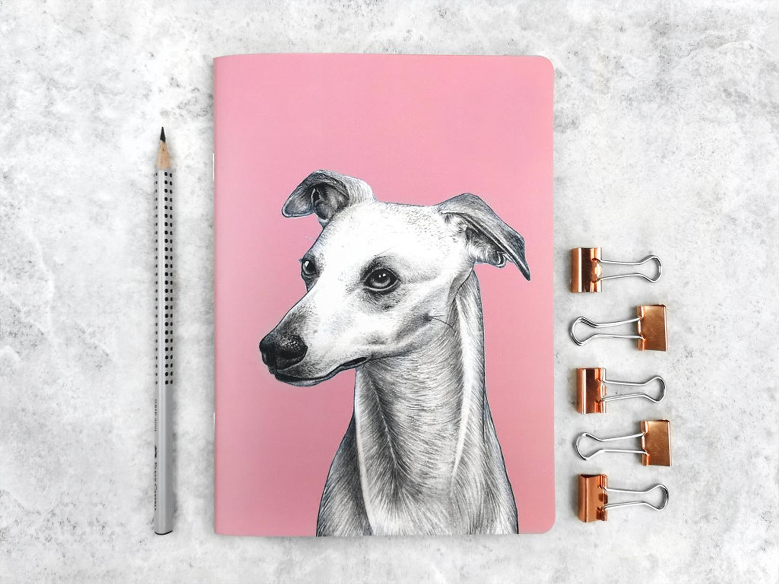Beth Goodwin Illustrator Whippet Notebook