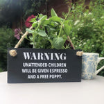 Lilybels Unattended Children Slate