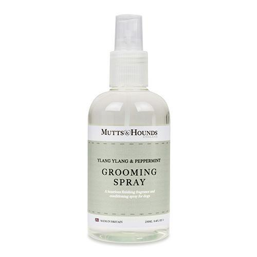 Mutts and Hounds Ylang Ylang & Peppermint Dog Grooming Spray