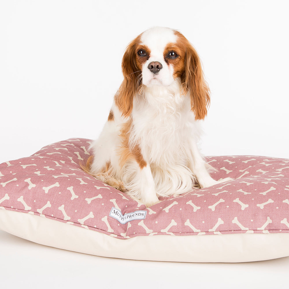 Mutts and Hounds Heather Bone Pillow Bed
