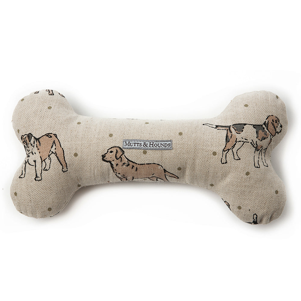 Mutts and Hounds Natural Dog Bone Toy