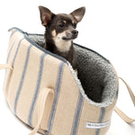 Mutts and Hounds Navy Nordic Stripe Carrier