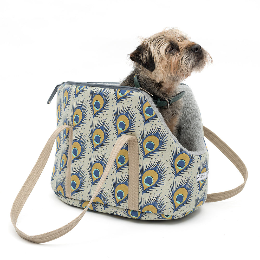 Mutts and Hounds Peacock Dog Carrier