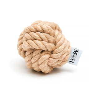 Mutts and Hounds Rope Ball Toy