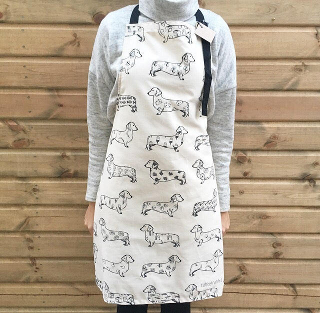 Tabby Rabbit Foodie Apron