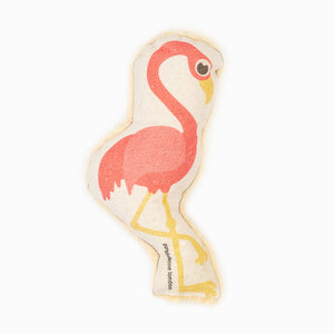 Purplebone Flamingo Squeaky Toy