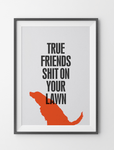 Fifi and Pascale 'True Friends' Graphic Print