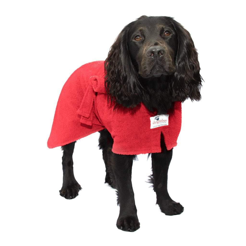 Dogrobes Red Drying Robe