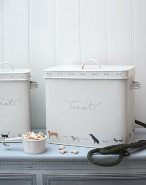 Sophie Allport Woof! Dog Treat Tin