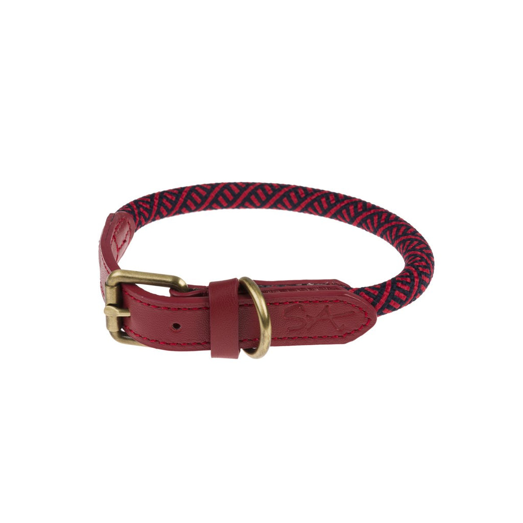 Sophie Allport Red Rope Collar