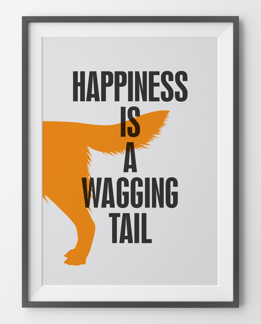 Fifi and Pascale 'Happiness' Graphic Print
