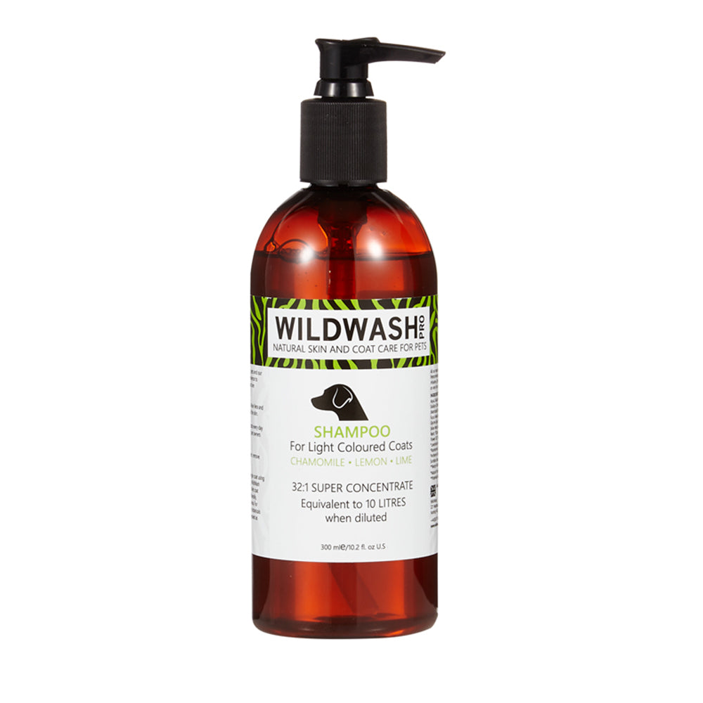 Wildwash Pro Light Coloured Coats Shampoo
