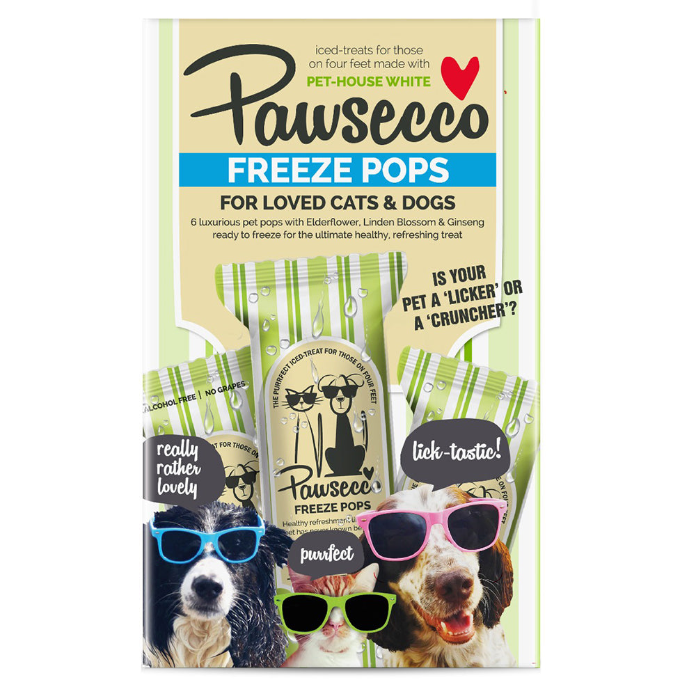 Woof and Brew Pawsecco Pops