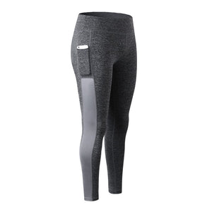 Super Stretchy Fitness Women's Leggings with Side Pocket
