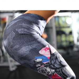 Printed Fitness Legging