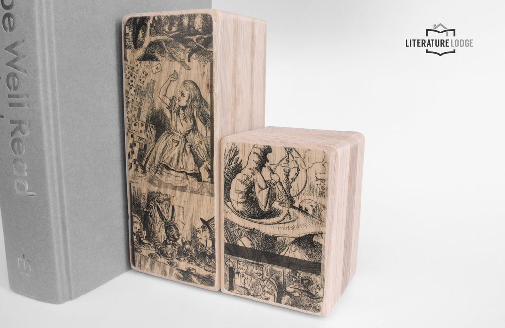 Literary Bookend: Alice's Adventures in Wonderland (Lewis Carroll)
