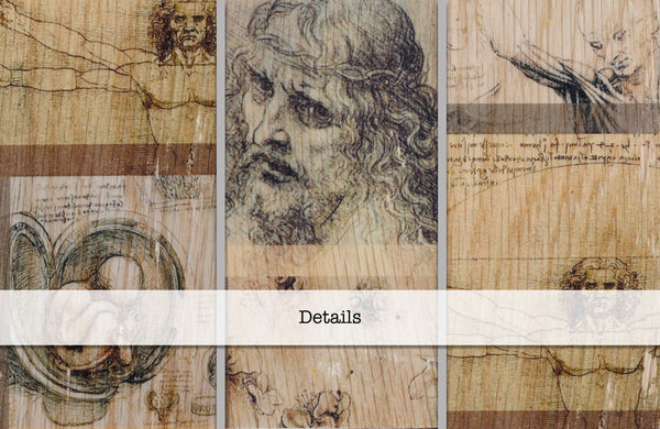 Literary Bookend: Da Vinci's Drawings