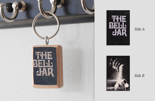 Literary Keychain: The Bell Jar (Sylvia Plath)