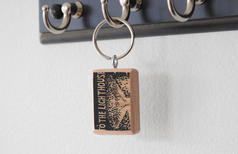 Literary Keychain: To the Lighthouse (Virginia Woolf)