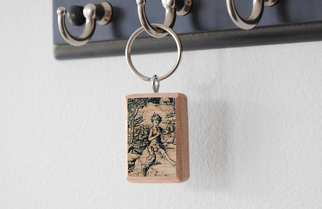 Literary Keychain: Peter Pan (J. M. Barrie)