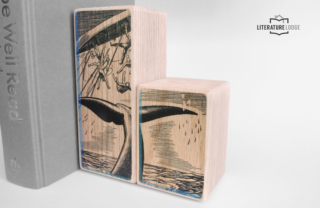 Literary Bookend: Moby Dick (Herman Melville)