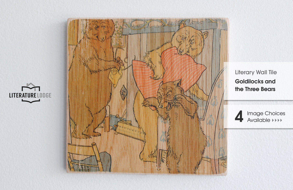 Literary Wall Tile: Goldilocks and the Three Bears (Multiple Designs Available)