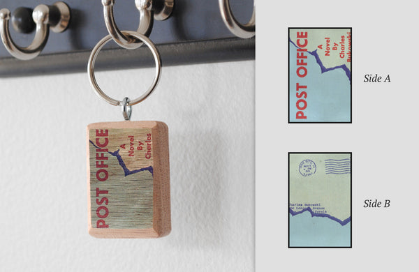 Literary Keychain: Post Office (Charles Bukowski)