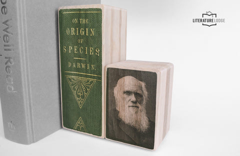 Literary Bookend: Charles Darwin