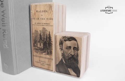 Literary Bookend: Walden (Henry David Thoreau)