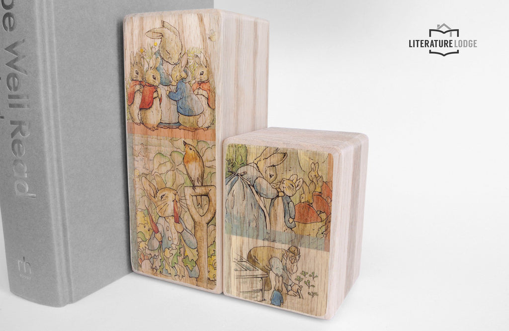 Literary Bookend: Peter Rabbit (Beatrix Potter)