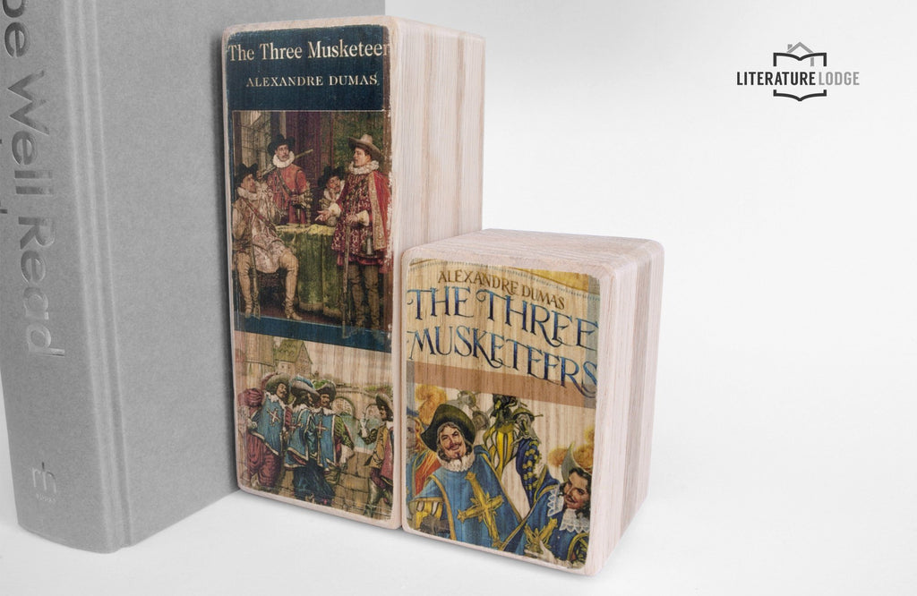 Literary Bookend: The Three Musketeers (Alexandre Dumas)