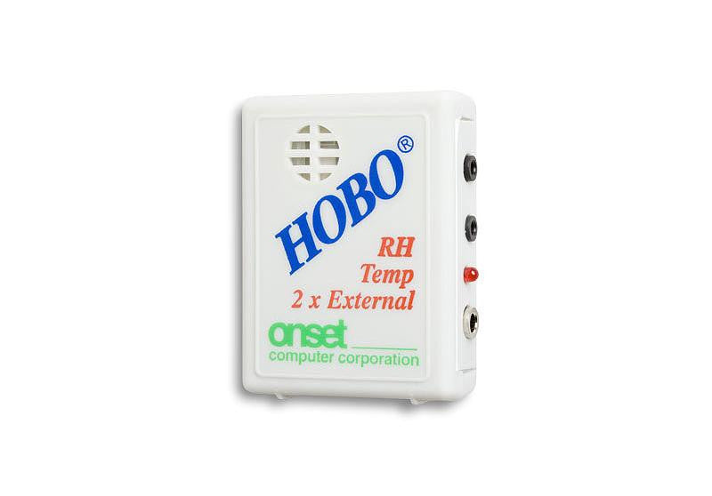 HOBO Temperature/Relative Humidity/2x External Channel Data Logger