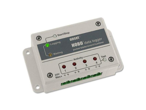 HOBO 4-Channel Pulse Data Logger (Expanded Memory)