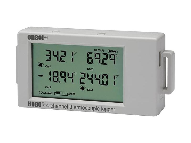 HOBO 4-Channel Thermocouple Data Logger