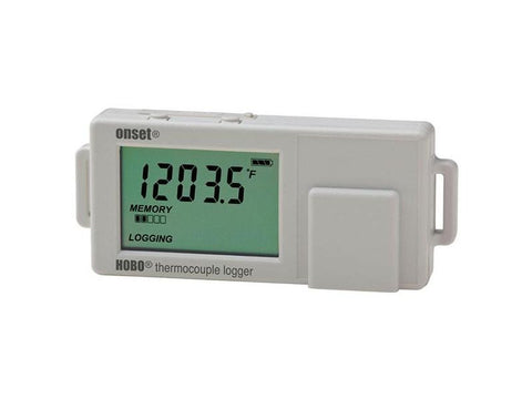 HOBO Type J, K, T, E, R, S, B,N Thermocouple Data Logger