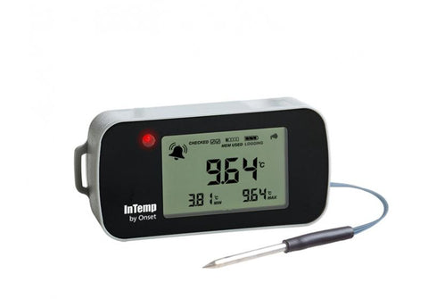 InTemp Bluetooth Low Energy 2m Temperature Probe  Data Logger (CX402-T2M)