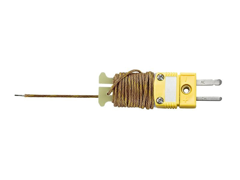 Type K 6 ft Beaded Thermocouple Sensor