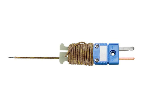 Type T 6 ft Beaded Thermocouple Sensor