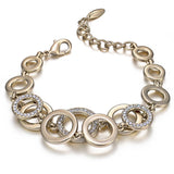 Double Layer Circle Bracelet