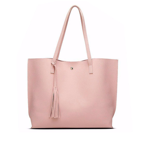 Tassel Tote Bag - in 4 Different Colors