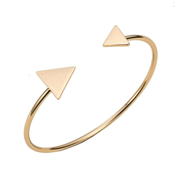 Solid Triangles Cuff Bracelet