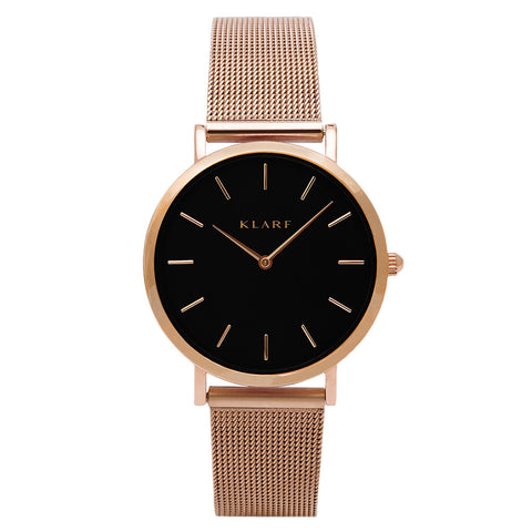 Vogue Mesh Strap Watch - 4 Different Colors