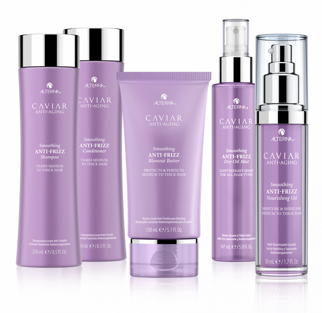 Alterna Caviar Anti Aging Hair Care - Smoothing Anti-Frizz Range