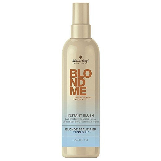 BLONDEME Instant Blush Temporary Hair Color - Steel Blue 250ML
