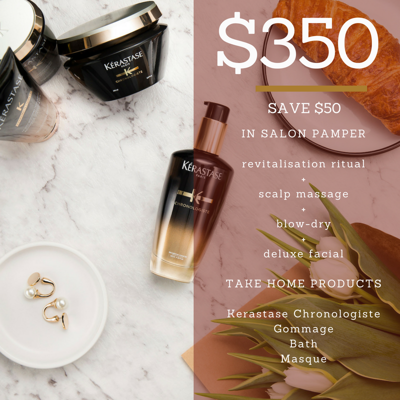 Mothers Day Chronologiste Pamper Pack $350 - Save $50
