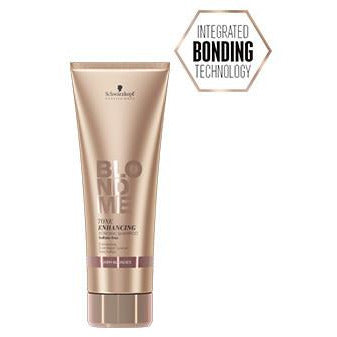 BLONDME® Tone Enhancing Bonding Shampoo - Warm Blondes